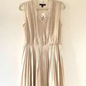NWT Blush lace and gauze Banana Republic dress